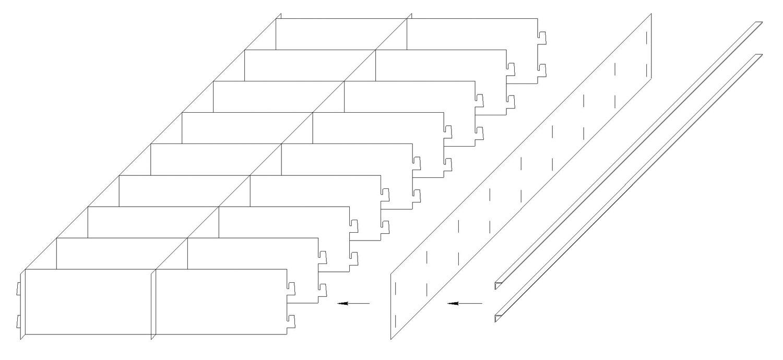 Необходимое количество рабочих для сборки...  Изготовим формы по размерам заказчика (ячейки различного...